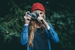 Taking photos, taking time